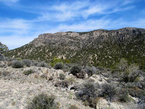 western half of Wah Wah cliffs