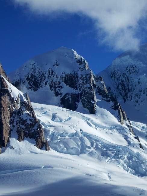 Mount Lendenfeld, seen from...