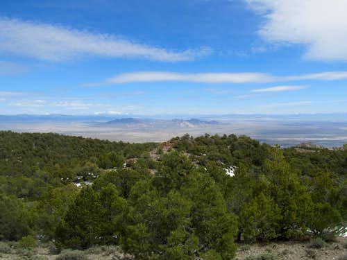 views from Keg Mountain summit