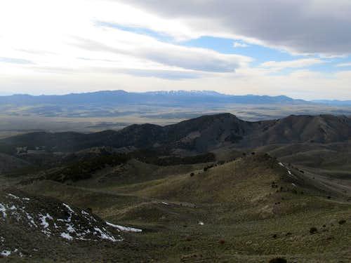 Sheeprock Mountains