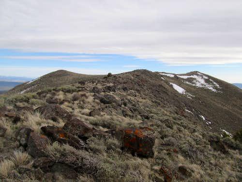 looking down Tintic Ridge