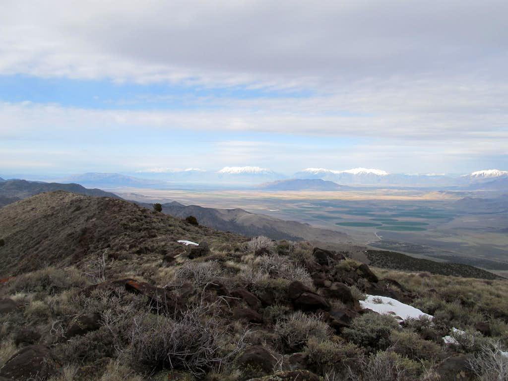 looking towards Utah County
