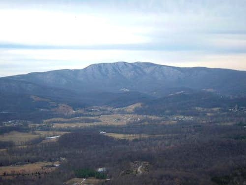 Hogback Mountain from Skyline...