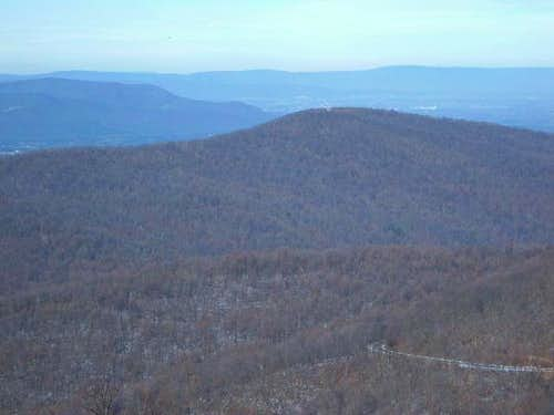 Dickey Hill (2,444') from the...