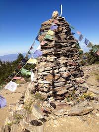 Sawmill summit cairn