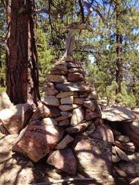 Grouse Mountain summit cairn