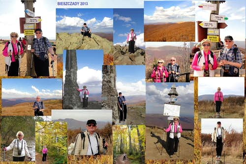 Our hikes in Bieszczady Mountains - 2013