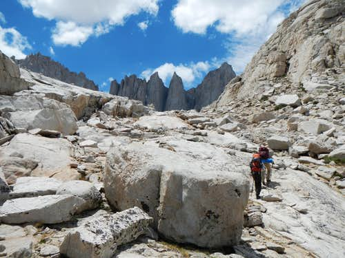 Mt. Whitney and Keeler Needle