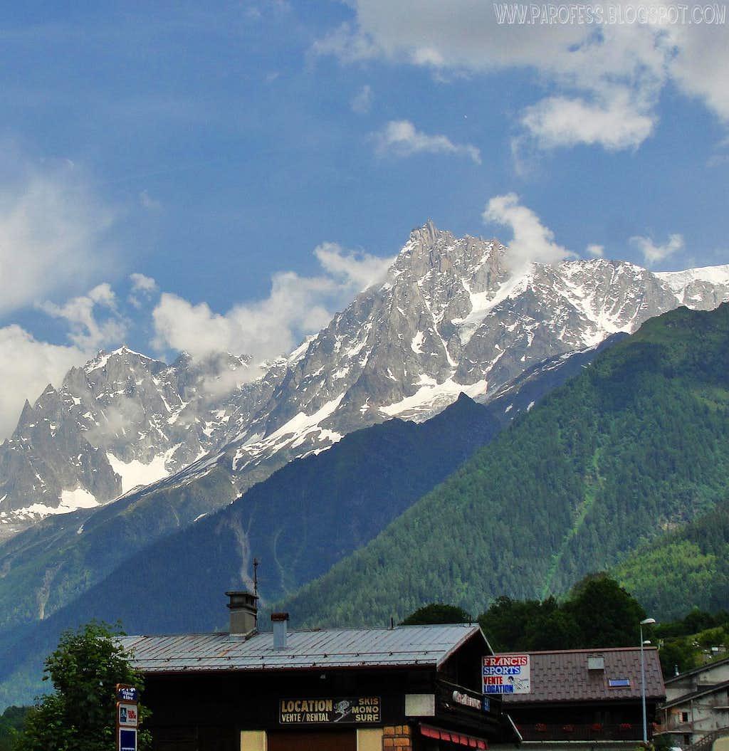 Midi from Chamonix