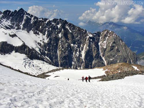 Arete du Tricot, Vorassay, Mont Blanc Massif