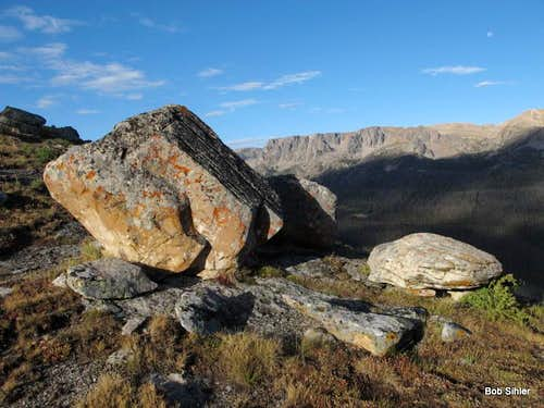 Glacial Erratics on Northwest Slopes