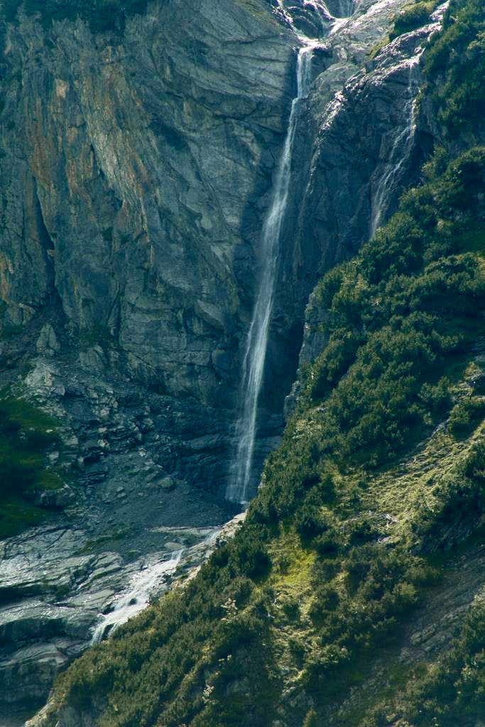 Gletscherbach Waterfall