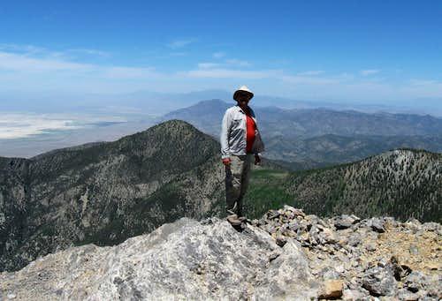 Troy Peak - Summit pose