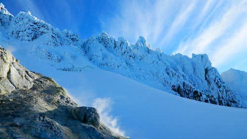 Snow and sulfur on Mt Hood