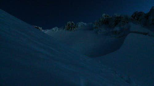 Mount Hood South Side early