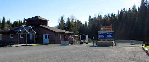 Mount Carleton Park Entrance