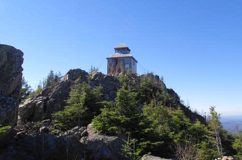 Mount Carleton summit