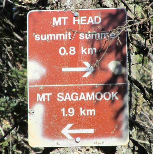 Mount Carleton, Mount Head Intersection