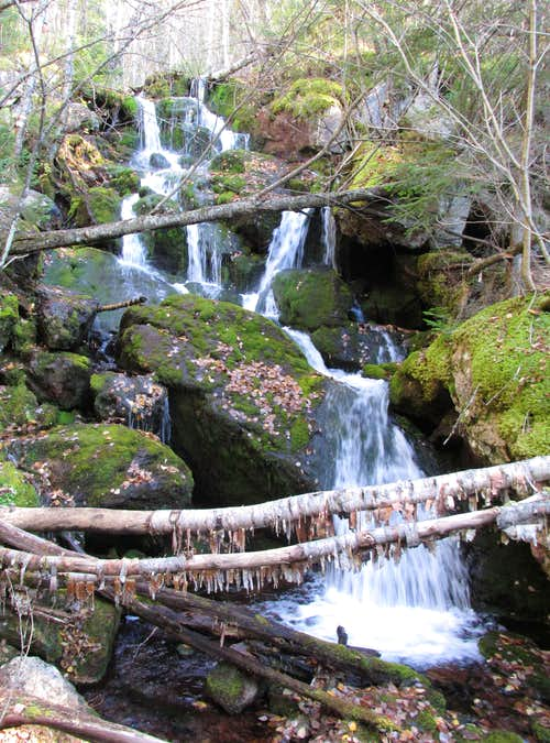 Mount Carleton waterfall