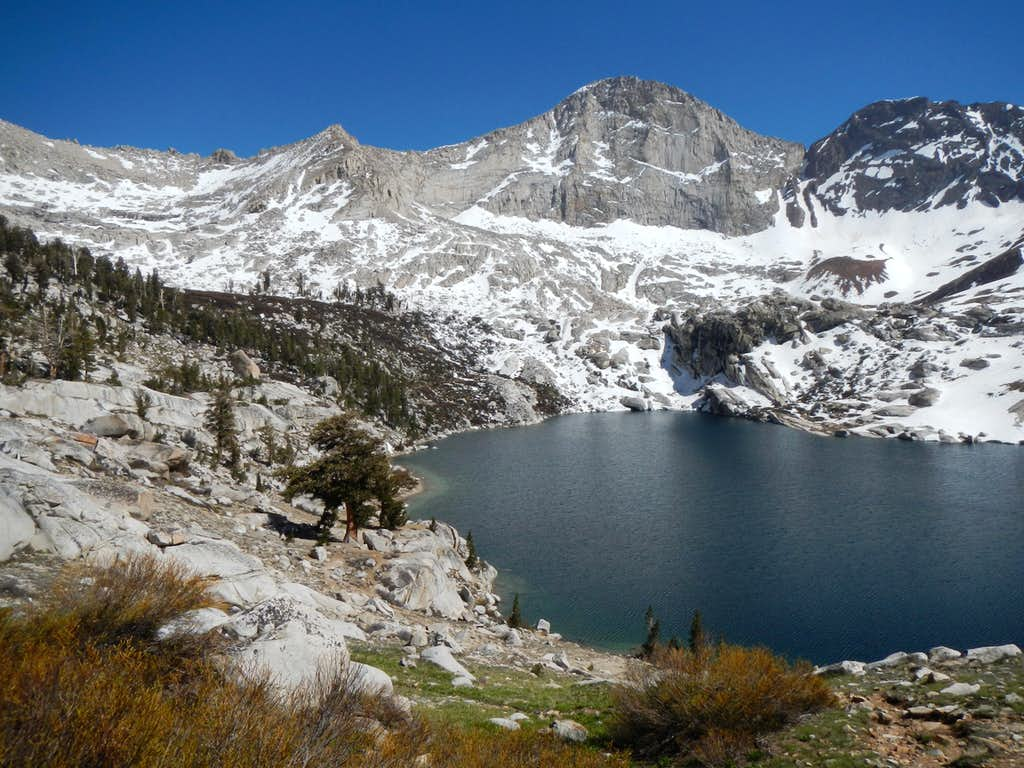 Florence Peak and Lower Franklin Lake