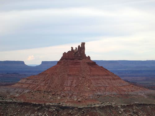 The North Six Shooter seen from the summit of the South Six Shooter