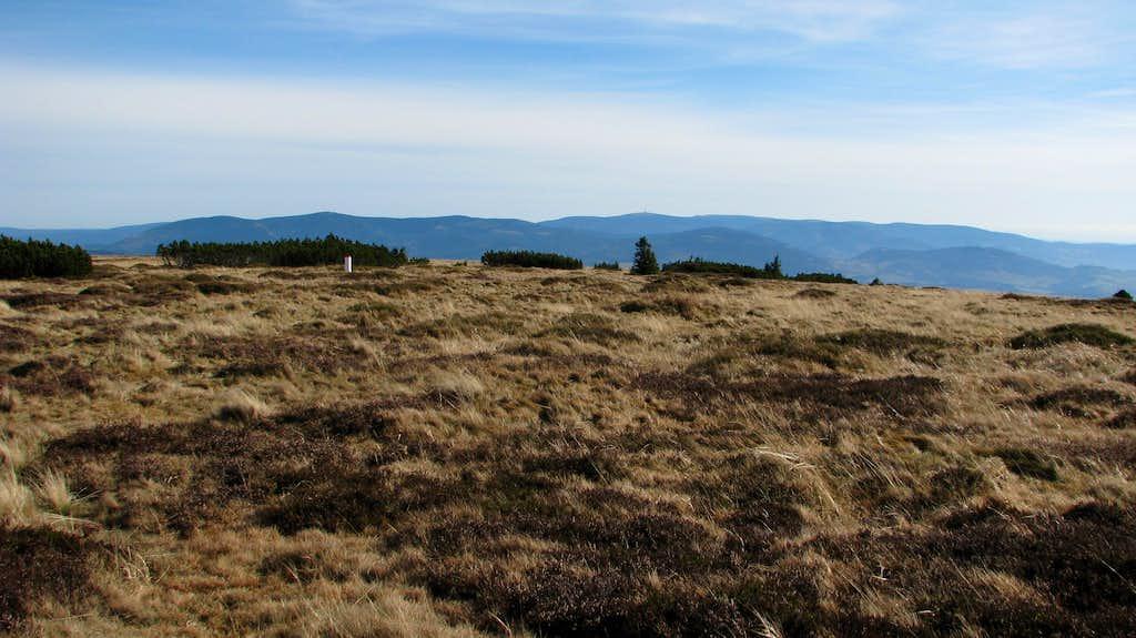 Flat summit area