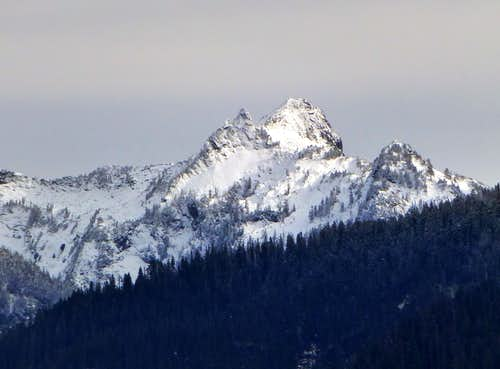 Salish Peak from Blue Mountain  11-6-13