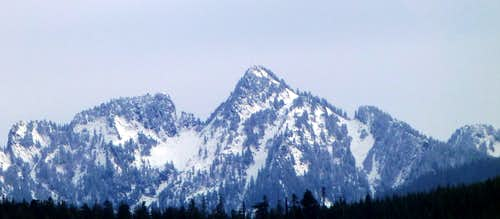 Fletcher Peak from Blue Mountain  11-6-13