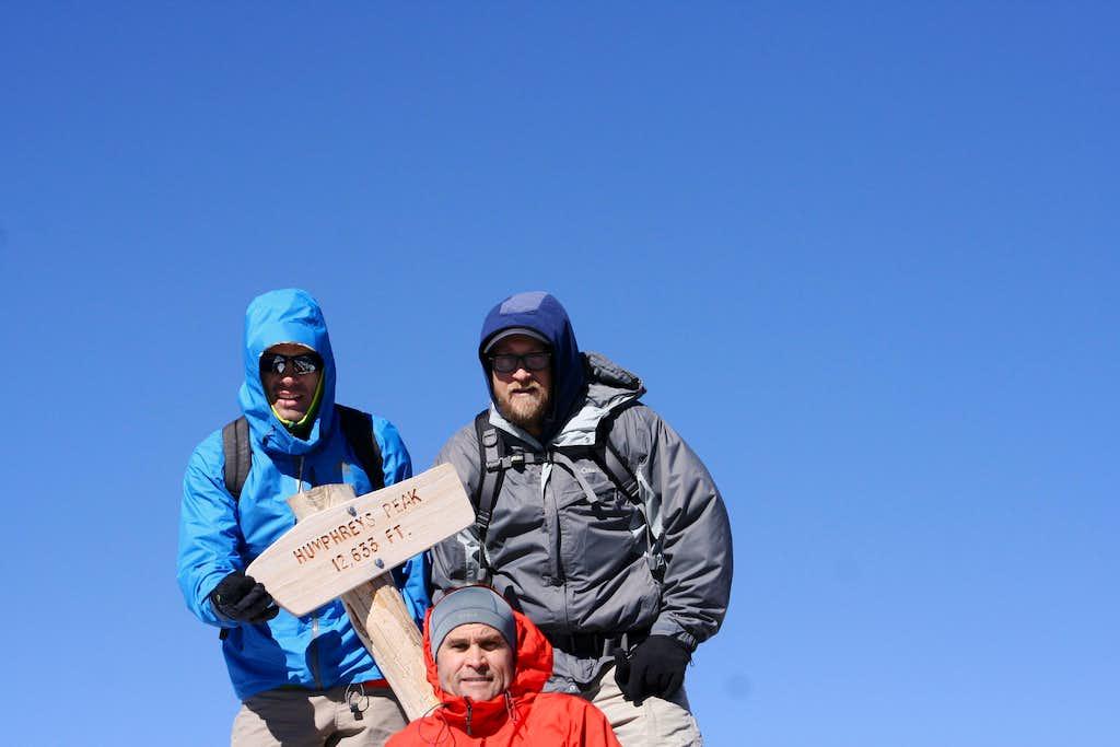 Summit of Humprheys Peak