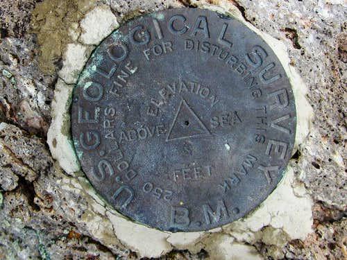 Reveille Peak (NV)  Benchmark