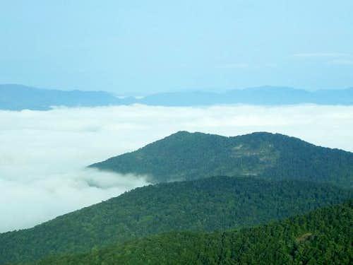 Fishhawk Mountains Fog