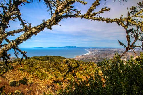 North from Montara Mountain