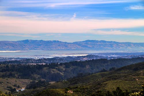 Diablo Range from Montara Mountain
