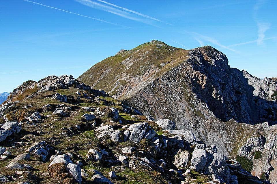 Begunjscica summit ridge
