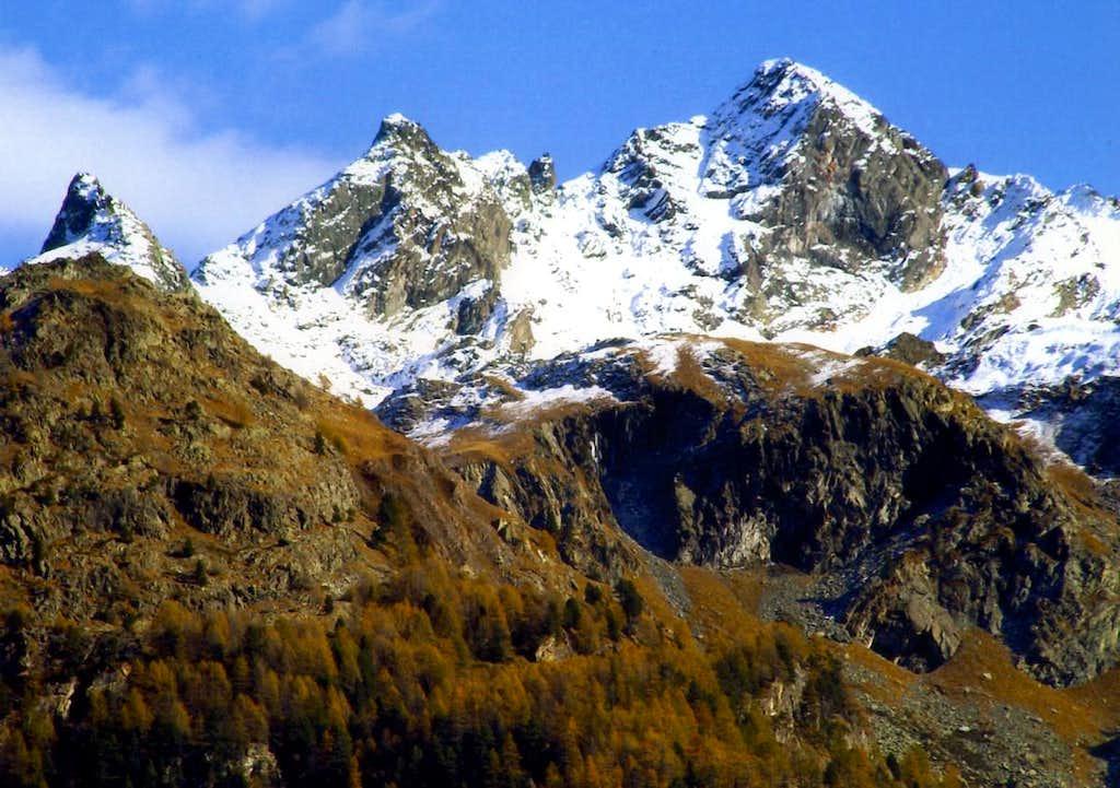 P. Nera above Miserino Vallon by Invergnaux Pass 2002