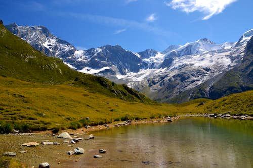At Lac d'Arpitettaz