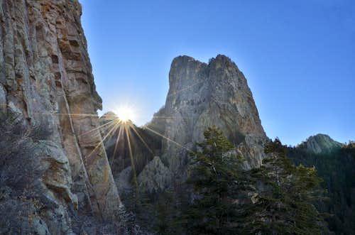 Hiking Sandia Peak