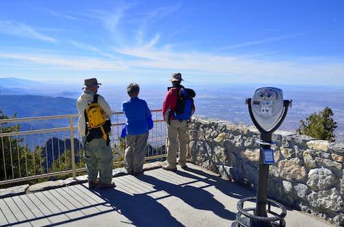 Sandia Peak summit
