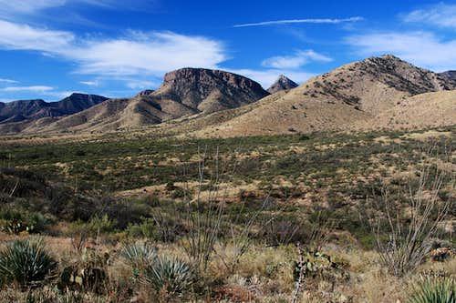Whetstone Mountains