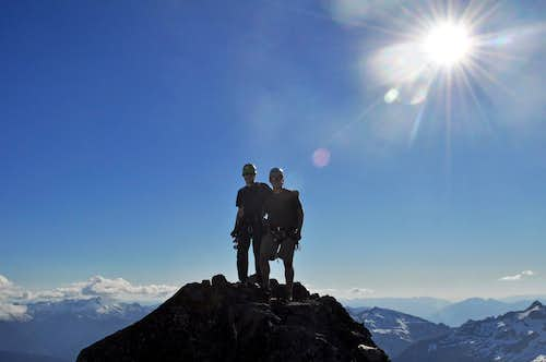 Mark and I on the Summit of Torment