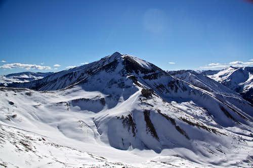 Redcloud Peak 14,034 feet