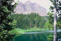 Sublette & Wind River Lake.