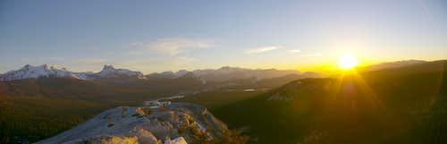 Panorama from Lembert Dome