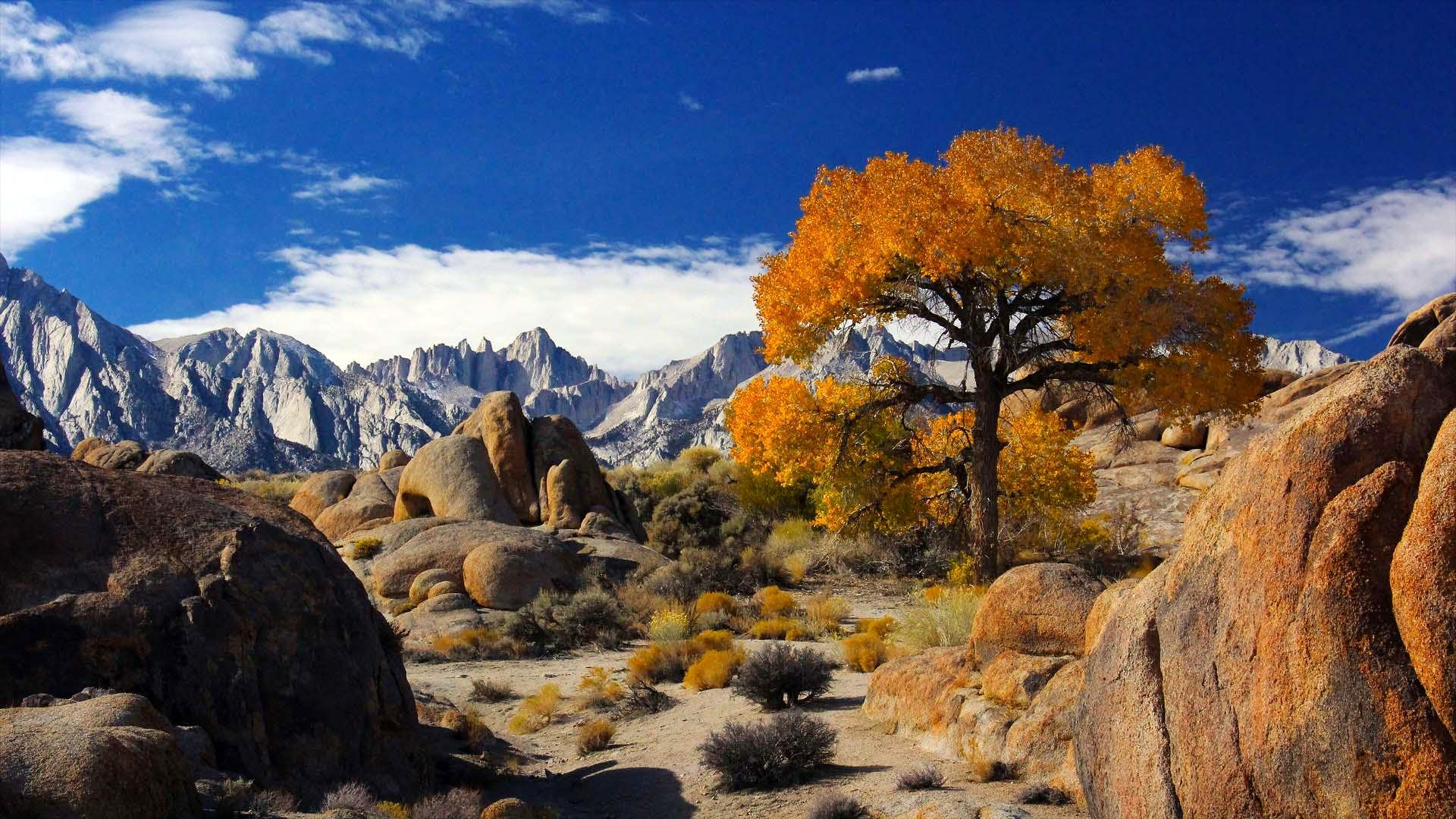 Hiking up Mt Whitney Main Trail in November