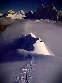 Yanapaccha Summit Ridge