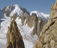 From the Aiguille du Tour.<br />