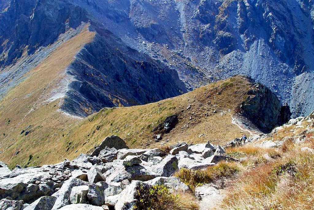 Mont Barbeston to Valmeriana Hill