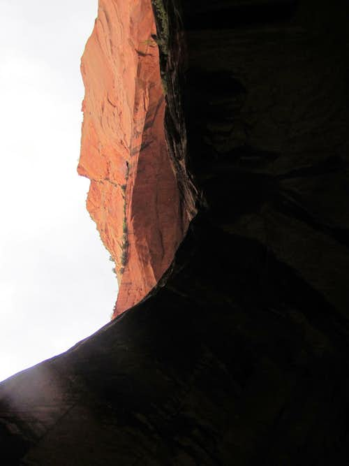 Looking up the double alcoves
