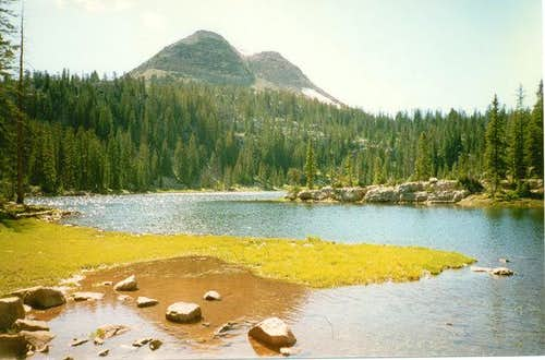 Cone Peak  from Island Lake