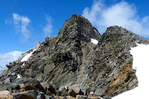 Pfaffenschneid east ridge